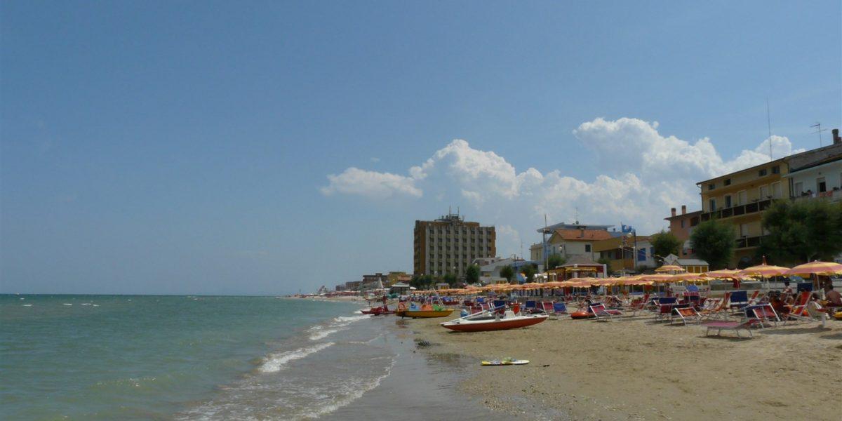 La spiaggia di marotta