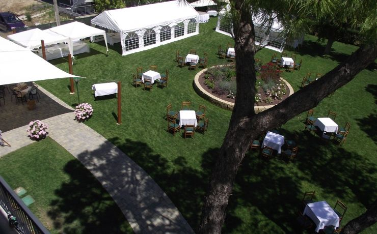 Hotel ristorante ausonia giardino 11