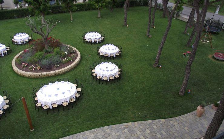 Hotel ristorante ausonia giardino 9